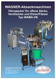 WAGNER-Absackmaschinen
