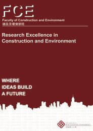 Excellence in Research - Faculty of Construction and Environment