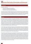 Excellence in Research - Faculty of Construction and Environment - Page 4