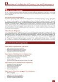 Excellence in Research - Faculty of Construction and Environment - Page 5