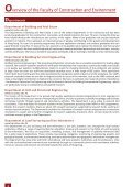Excellence in Research - Faculty of Construction and Environment - Page 6