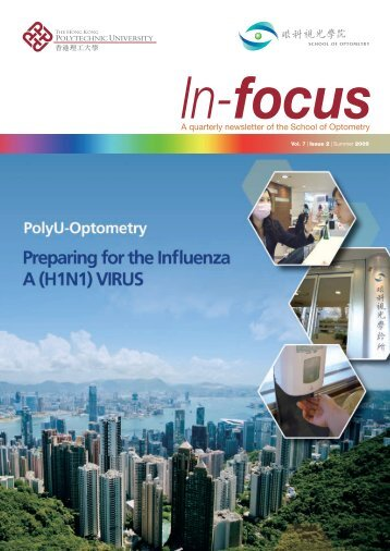 A quarterly newsletter of the School of Optometry - The Hong Kong ...