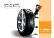 Automotive Solutions - Cellasto - BASF Polyurethanes Asia Pacific