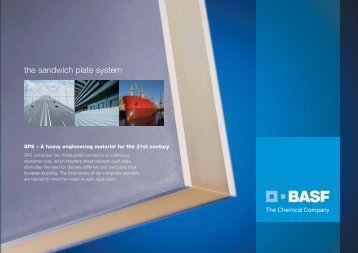 The Sandwich Plate System - BASF Polyurethanes Asia Pacific