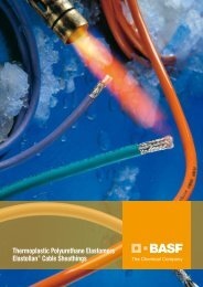 TPU Cable and Wire - BASF Polyurethanes Asia Pacific