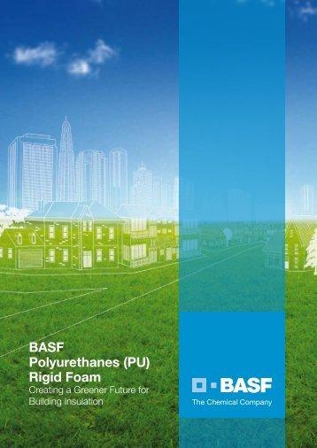 BASF Polyurethanes Rigid Foam - BASF Polyurethanes Asia Pacific