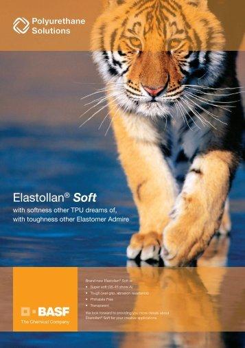 Elastollan® Soft E - BASF Polyurethanes Asia Pacific
