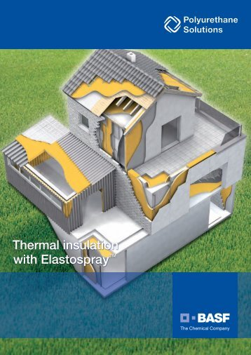 Thermal insulation with Elastospray - BASF Polyurethanes Asia Pacific