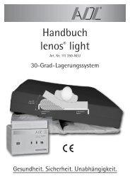Handbuch lenos® light - ADL GmbH