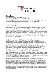 MANNIFESTE von - Kulturverlag Polzer GmbH