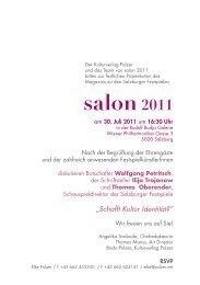 salon2011 - Kulturverlag Polzer GmbH