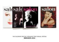 Advertising Rates salon Salzburg Festival 2010 English