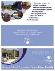 Stilwell Ballroom Rentals Brochure - Family & MWR - Presidio of ...