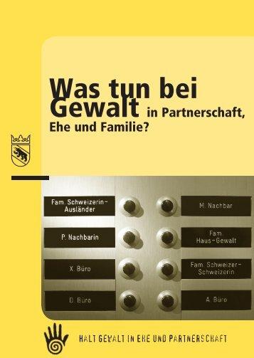 Was tun bei - Polizei - Kanton Bern