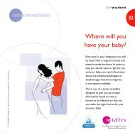Where will you have your baby? - Pomegranate Community Midwives