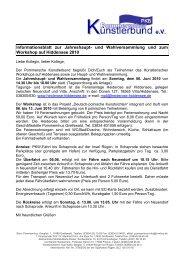 Informationsblatt (pdf-Datei) - Pommerscher Künstlerbund