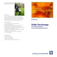 Dritte Vernissage - Pommerscher Künstlerbund