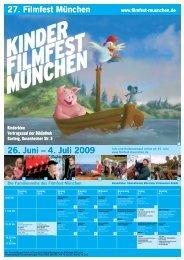 4. Juli 2009 27. Filmfest München 26. Juni – 4. Juli 2009 - Pomki