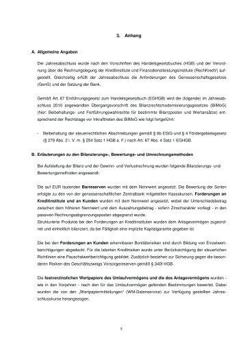 3. Anhang - Pommersche Volksbank eG