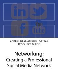 Social Media Networking [pdf] - Pomona College
