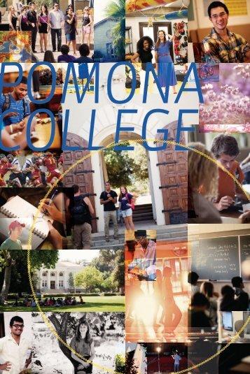P R E V I E W 2 0 1 3 - Pomona College
