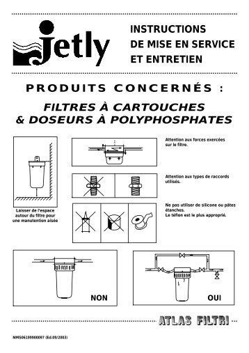 instructions de mise en service et entretien produits ... - Pompes Direct