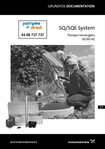SQ/SQE System - Pompes Direct