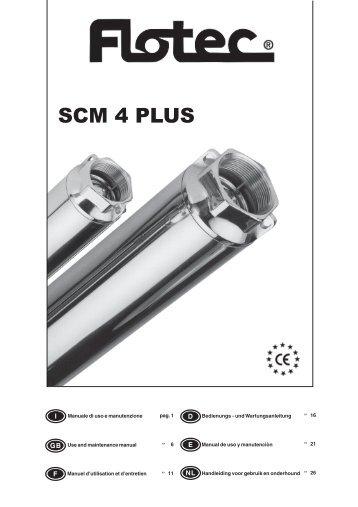 SCM 4 PLUS - Pompes Direct