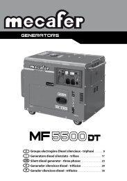 Groupe electrogène Diesel silencieux - triphasé ... - Pompes Direct