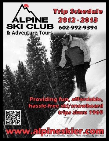 Current Newsletter - Alpine Ski Club