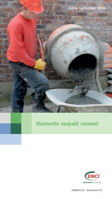 Memento verpakt cement - Pontmeyer