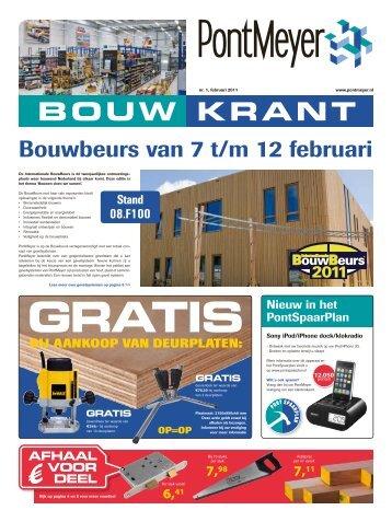BOUW KRANT - Pontmeyer