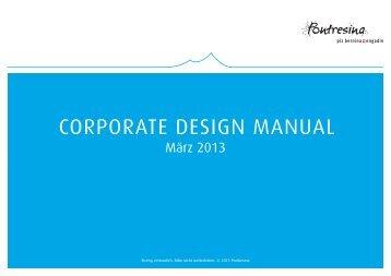 corporate design manual - Pontresina