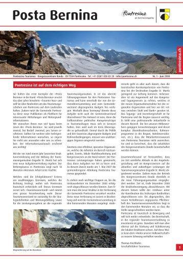 Posta Bernina - Pontresina