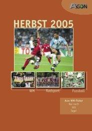 WM Radsport Fussball - Agon Sportverlag