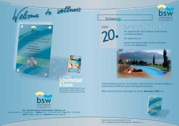 bsw-Award 2009 - Pool