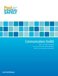 Pool Safely Communications Toolkit