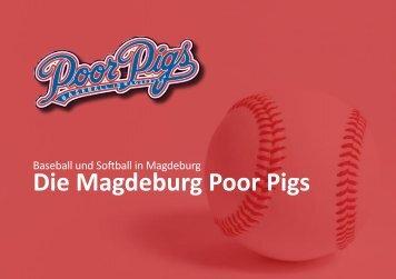 Magdeburg Poor Pigs - Präsentationsmappe