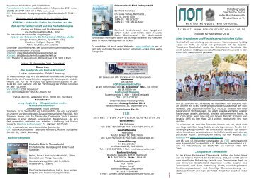 ΠΟΠ-Infoblatt September 2011 - POP Initiativgruppe Griechische ...