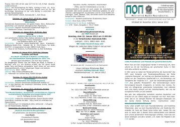 ΠΟΠ-Infoblatt Dezember 2011 - POP Initiativgruppe Griechische Kultur