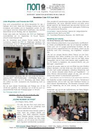 Newsletter 3 der ΠΟΠ Juni 2013 Liebe Mitglieder und Freunde der ...