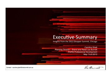 Executive Summary Shopper Summit.pptx