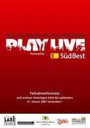 Die Musikszene der Region Stuttgart - Popbüro Region Stuttgart