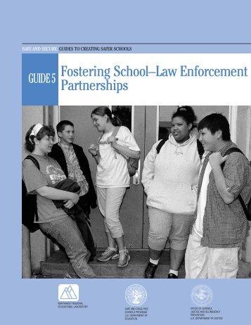 Fostering School-Law Enforcement Partnerships - Center for ...