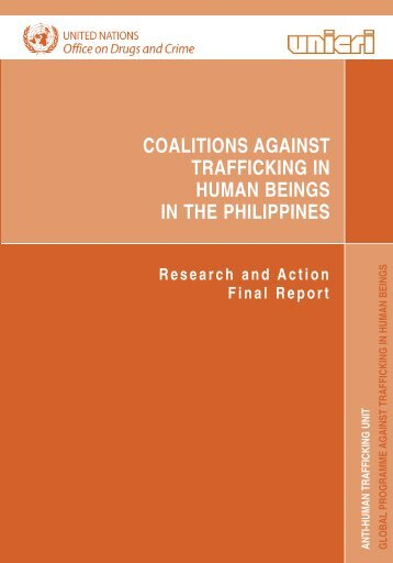 coalitions against trafficking in human beings in the philippines