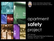 Crime and Disorder in Apartment Complexes - Center for Problem ...