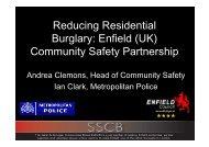Safe as Houses: Reducing Residential Burglary