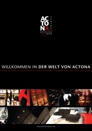 DER WELT VON ACTONA - ACTONA Company