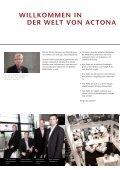 DER WELT VON ACTONA - ACTONA Company - Seite 2