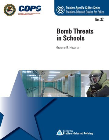 Bomb Threats in Schools - Center for Problem-Oriented Policing